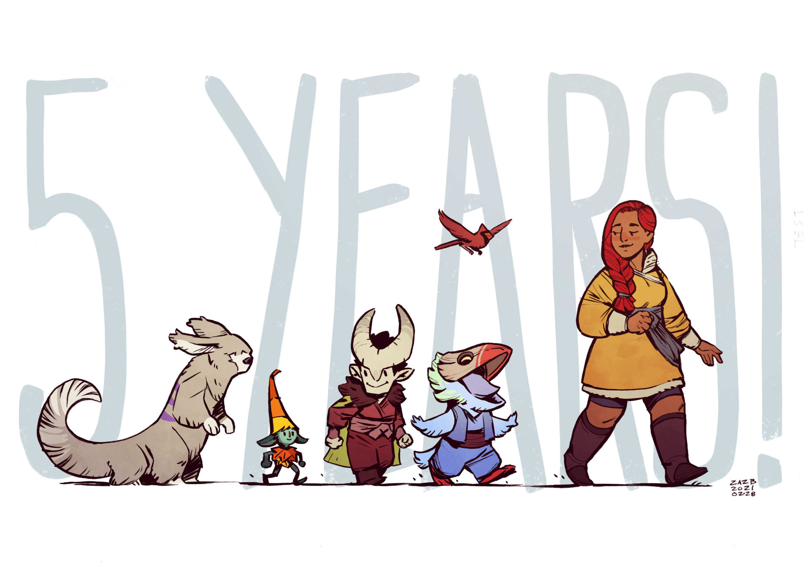 Five years anniversary!